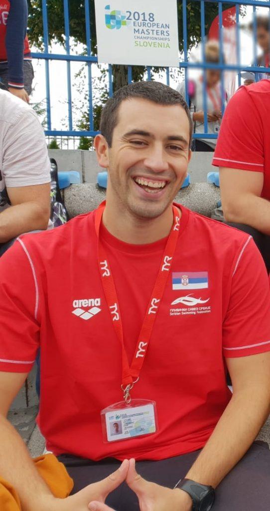 Stefan Andonović na Evropskom Masters Prvenstvu - Kranj 2018.