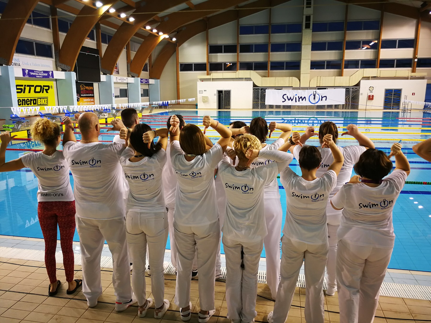 Plivačke sudije na 1. Swim-On talent Cup-u